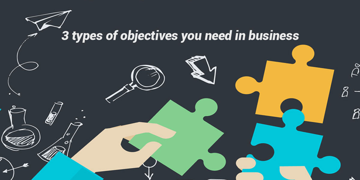 3 Types of Objectives You Need in Business