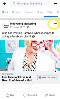 How To Access Facebook Business Page And Post Links On Your Mobile Phone